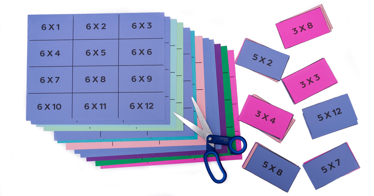 Downloadable Free Printable Multiplication Flash Cards Pdf