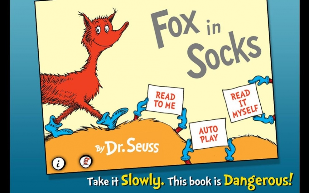 Dr Seuss Books Pdf Fox In Socks
