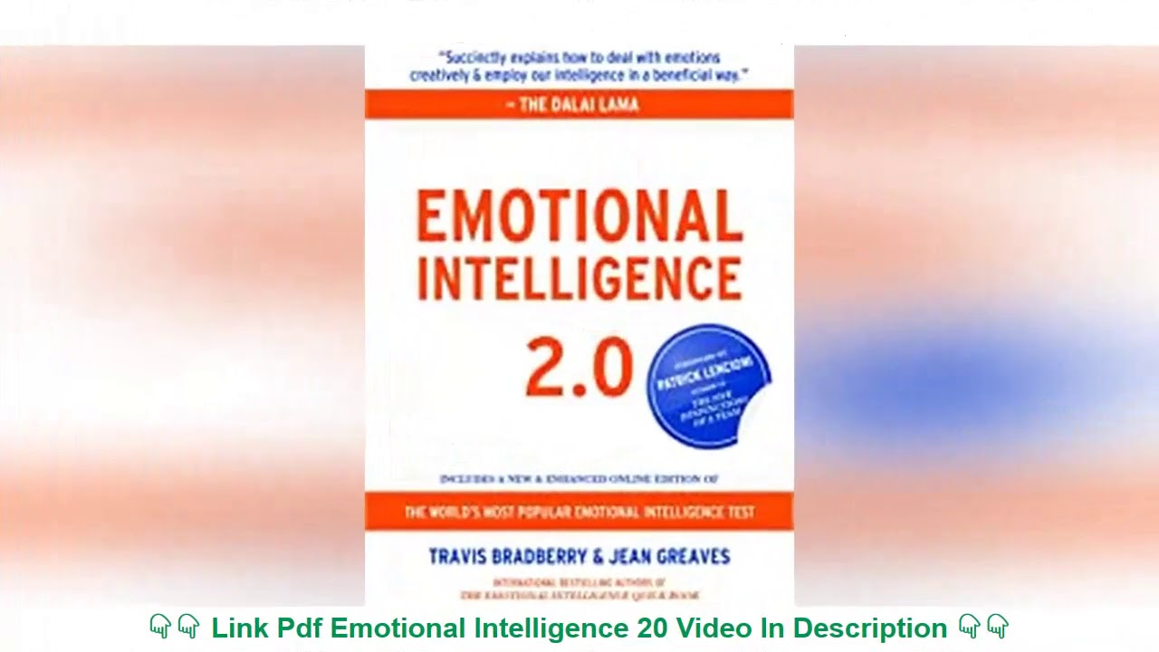 Emotional Intelligence 20 Pdf