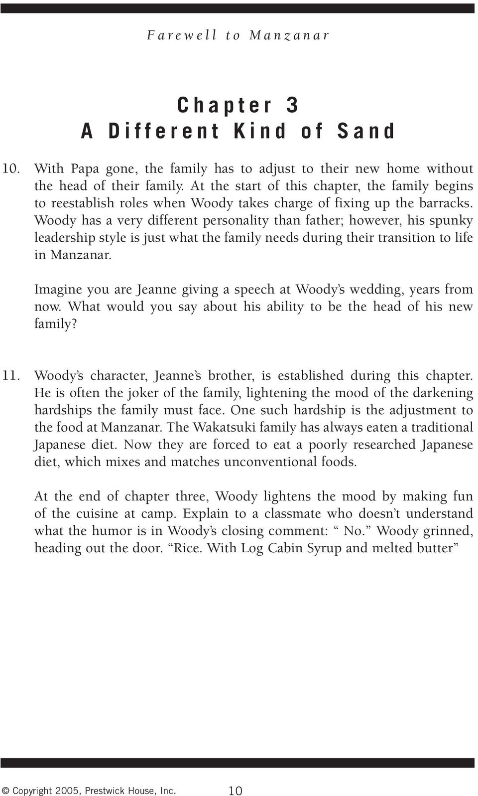 Farewell To Manzanar Pdf Chapter 2