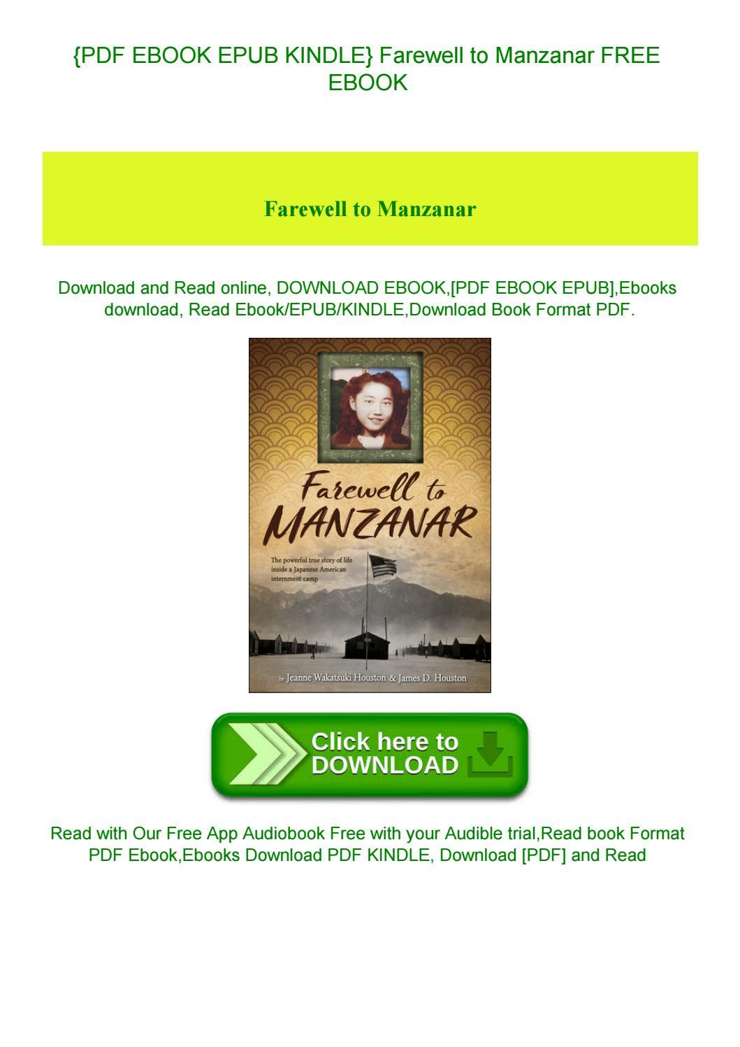 Farewell To Manzanar Pdf Free