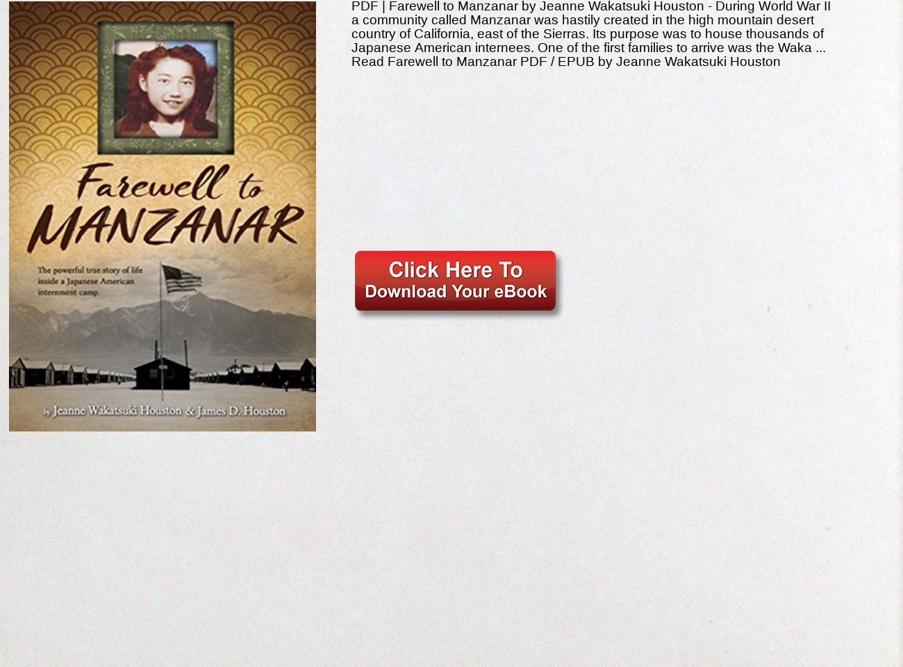 Farewell To Manzanar Pdf