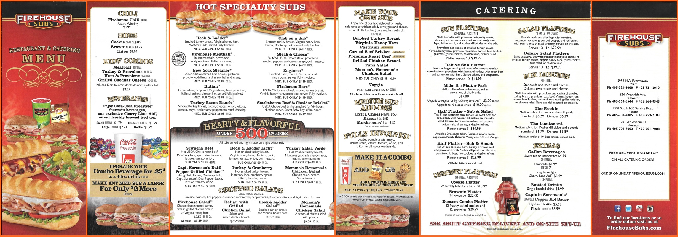 Firehouse Subs Menu With Prices Pdf