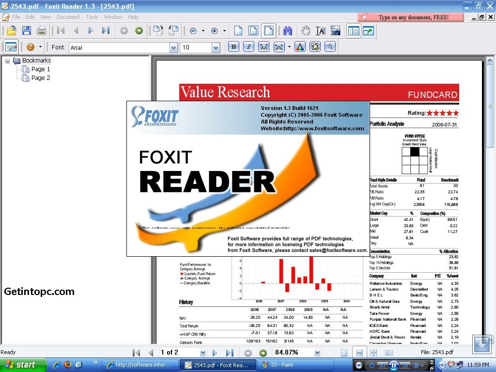 Foxit Pdf Printer Download Free