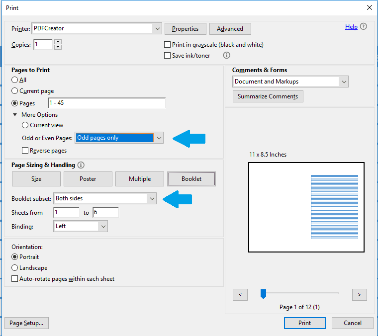 Foxit Pdf Printer Settings