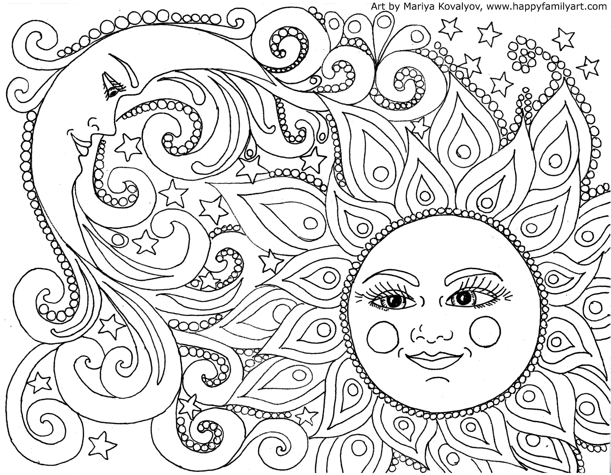 Full Page Free Coloring Pages Pdf Format