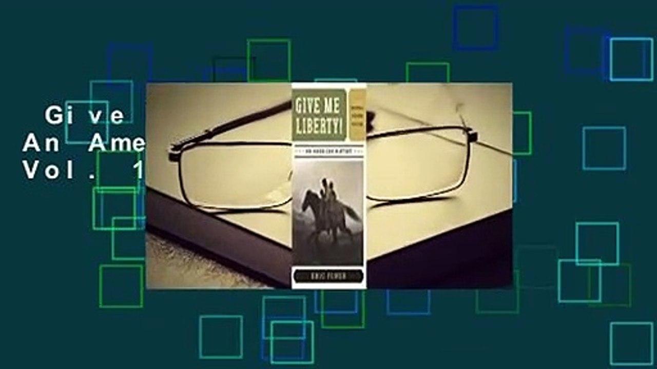 Give Me Liberty 5th Edition Pdf Vol 2