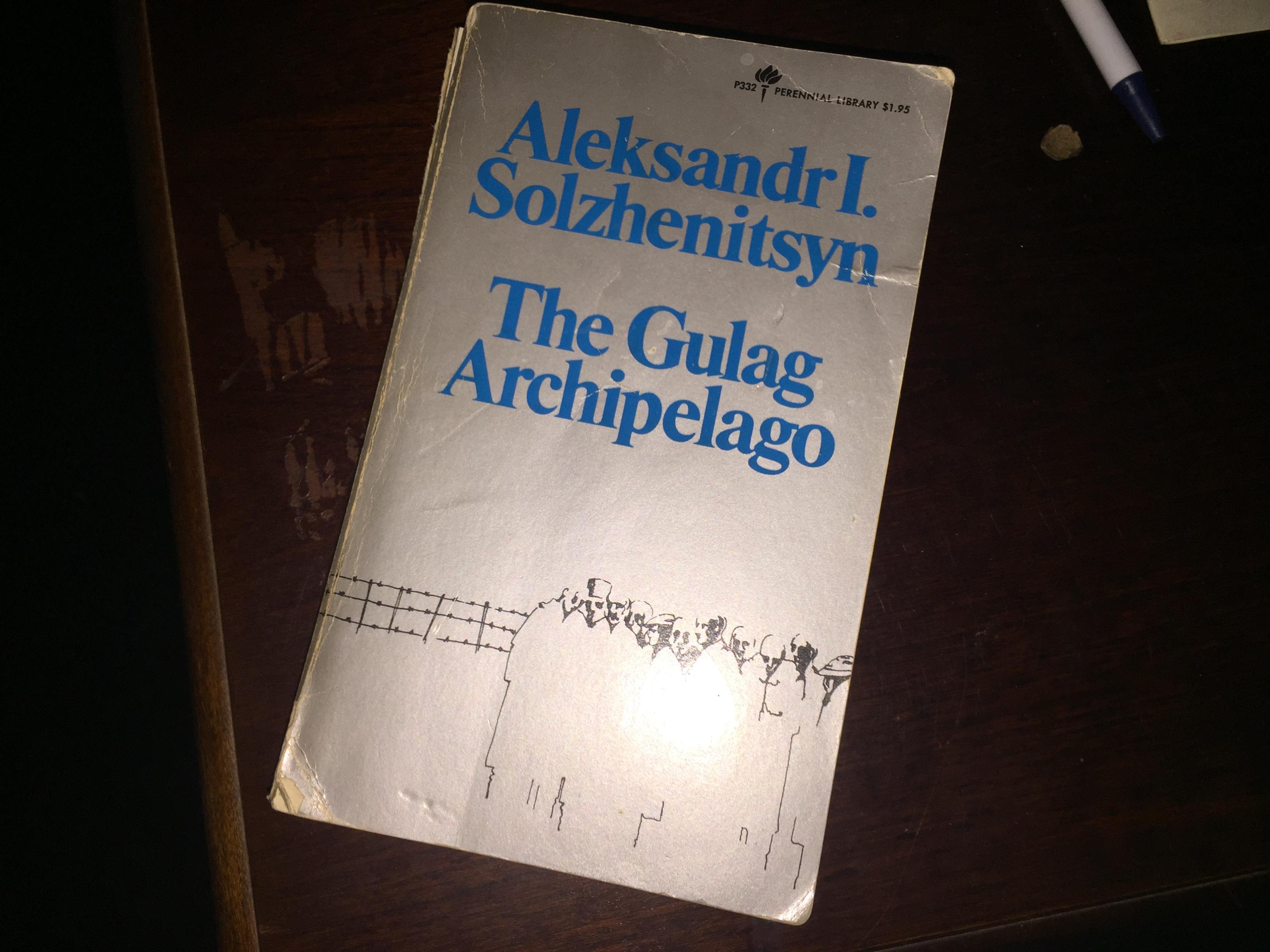 Gulag Archipelago Pdf Reddit