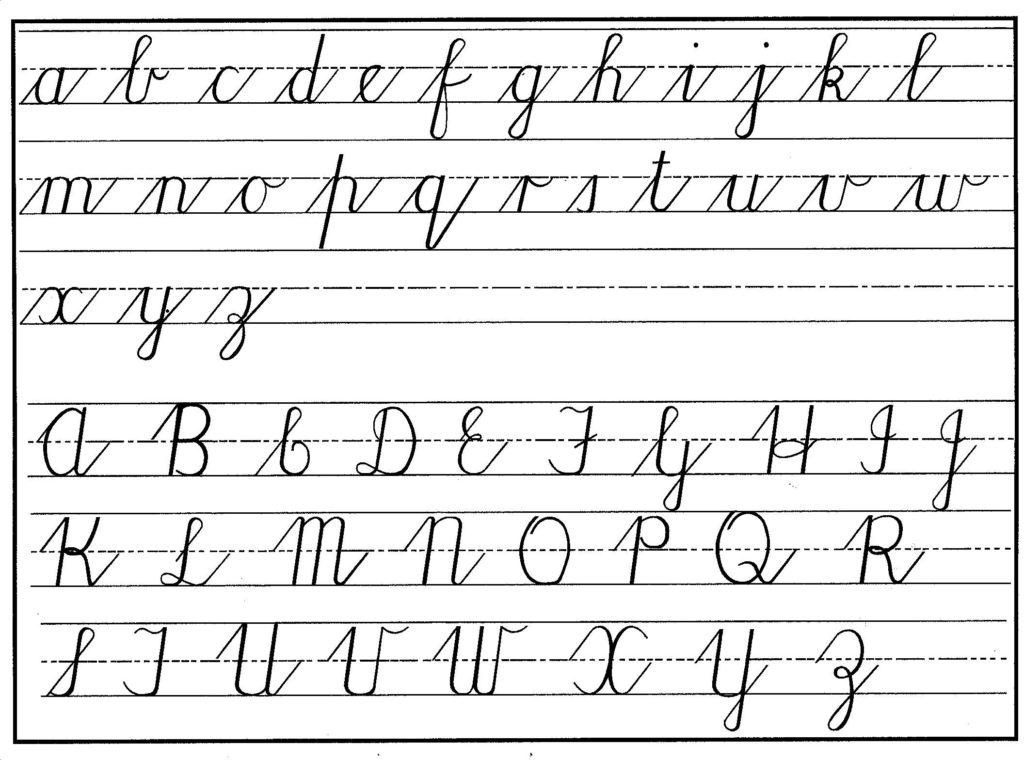 Handwriting Cursive Practice Pdf