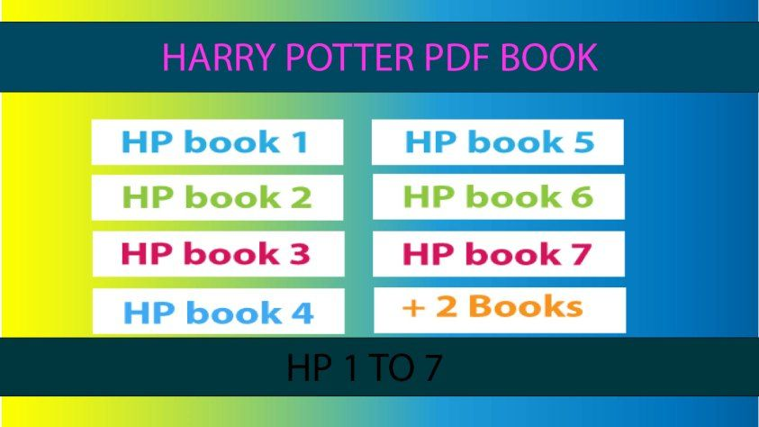Harry Potter Books Pdf Free Download