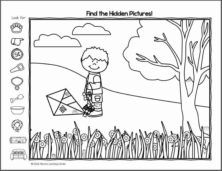 Hidden Pictures Pdf