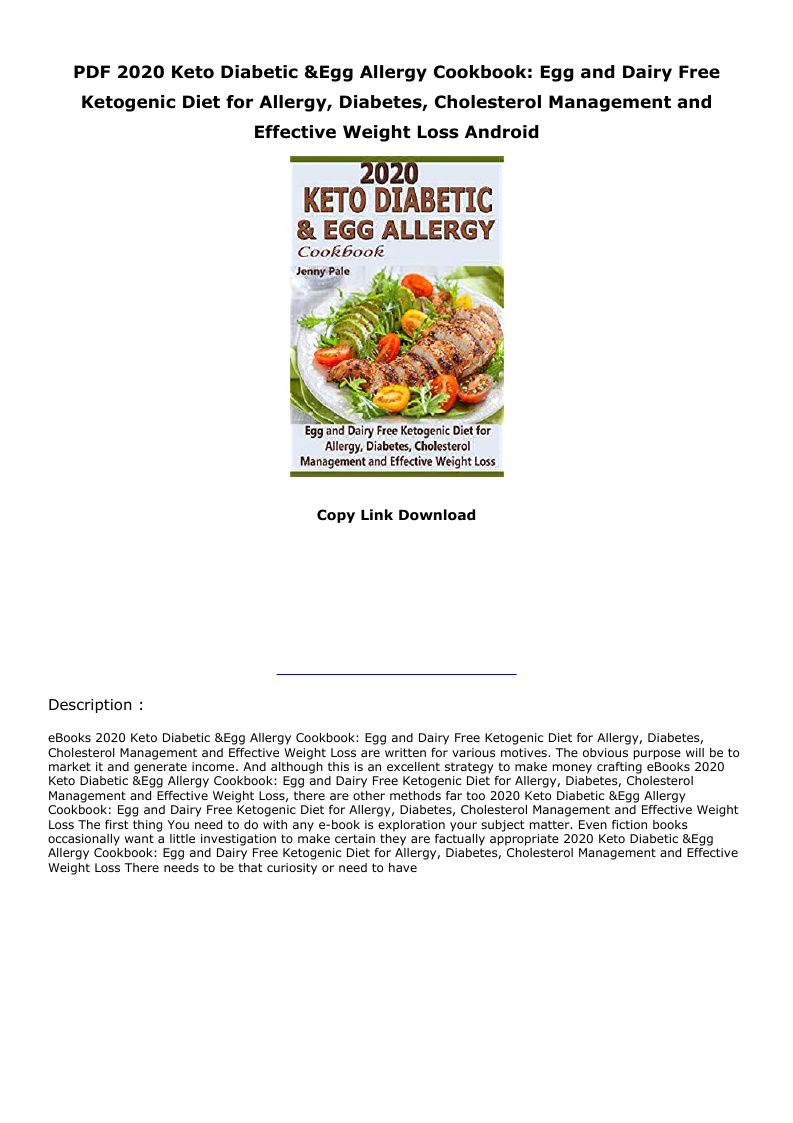 Keto Cookbook Pdf Free
