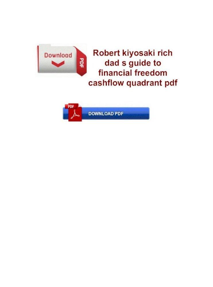 Kiyosaki Cashflow Quadrant Pdf