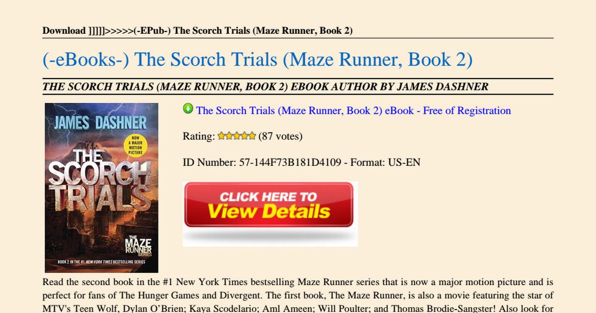 Maze Runner Pdf 2