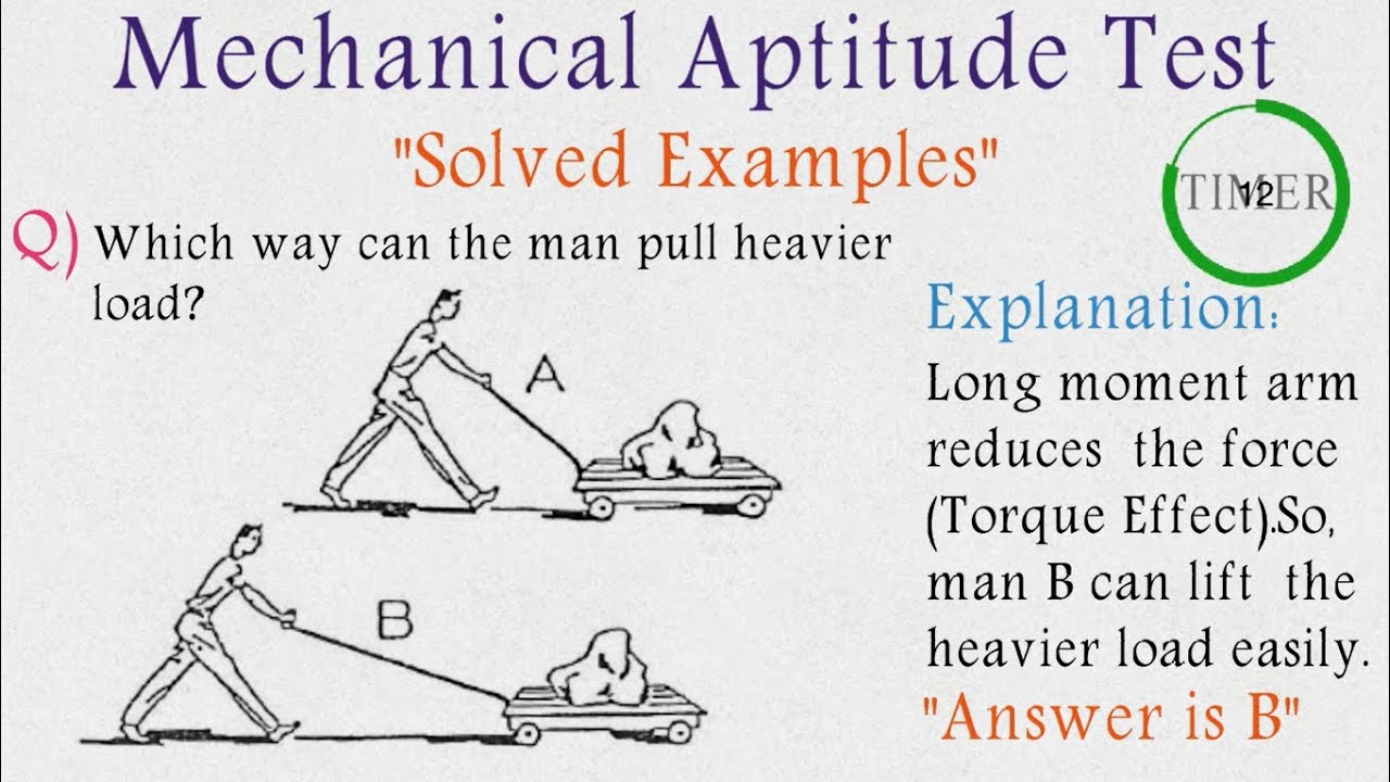 Mechanical Aptitude Test Pdf Issb