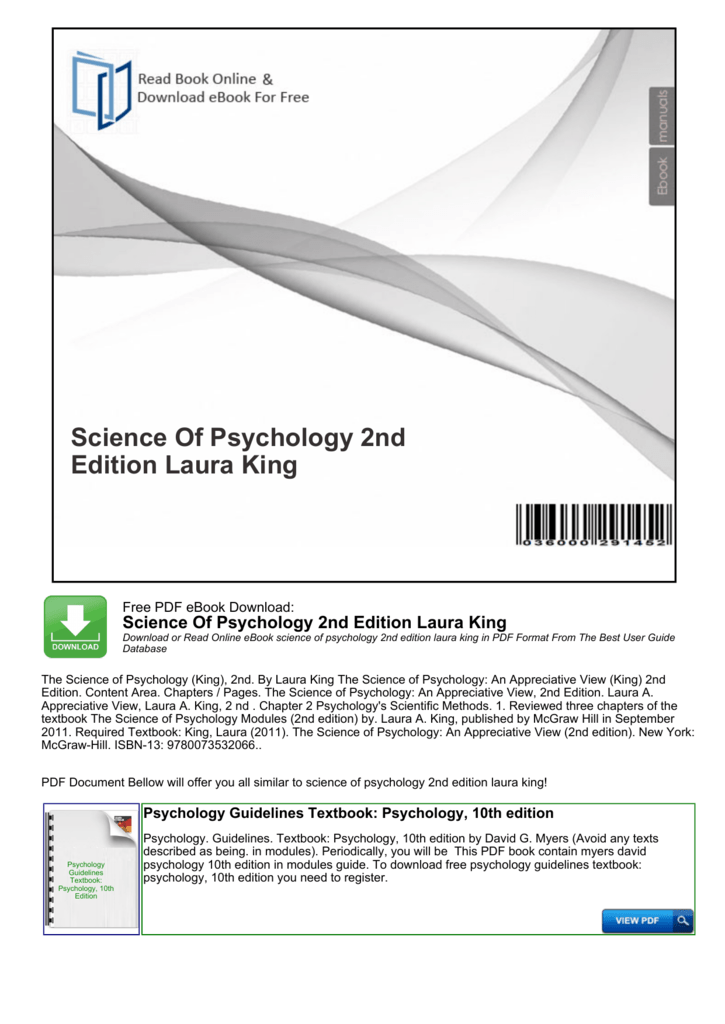 Myers' Psychology For Ap Pdf 3rd Edition