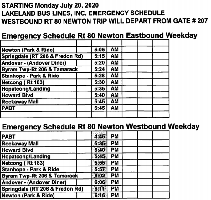 Nj 139 Bus Schedule Pdf