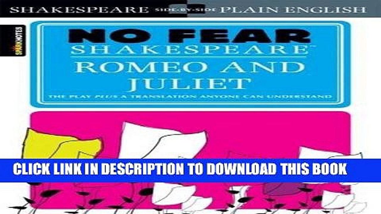 No Fear Shakespeare Romeo And Juliet Pdf