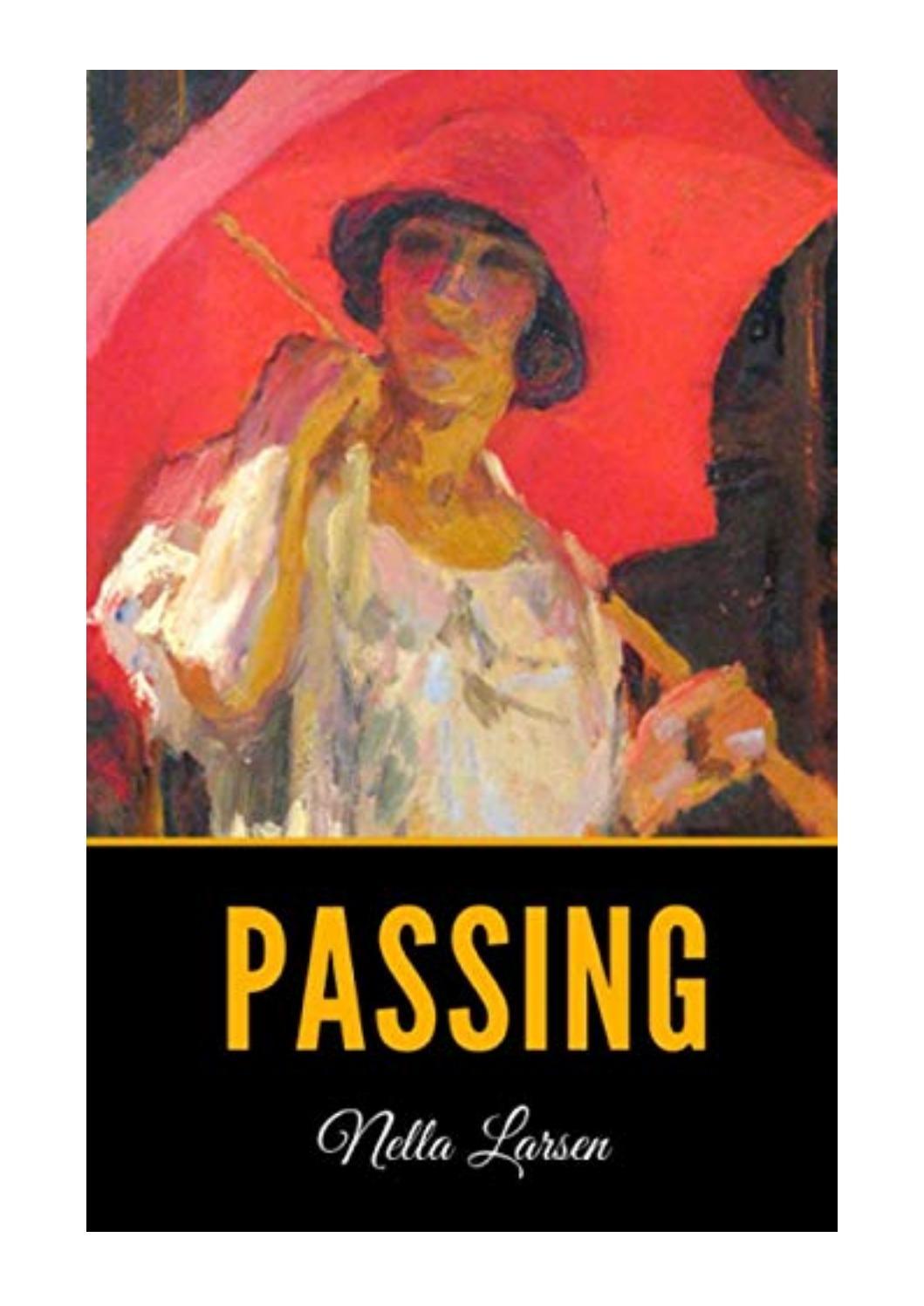 Passing Nella Larsen Pdf