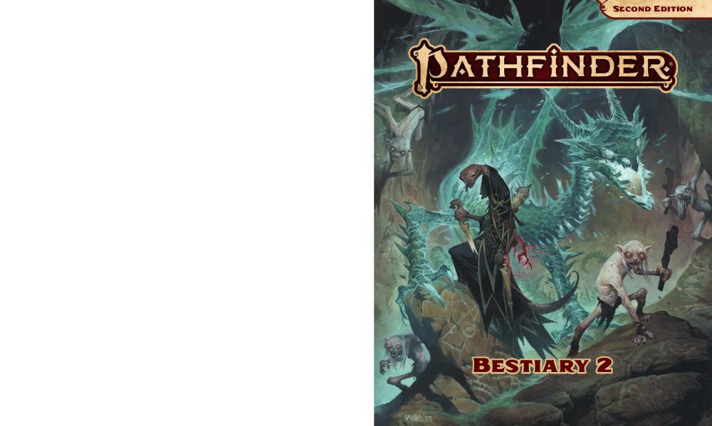 Pathfinder 2e Bestiary 2 Pdf