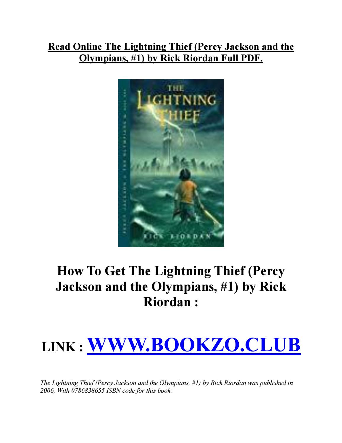 Percy Jackson And The Lightning Thief Pdf Download
