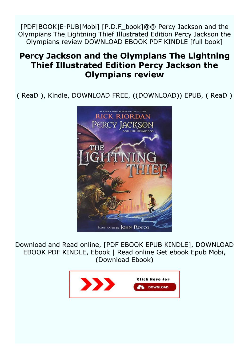 Percy Jackson And The Lightning Thief Pdf Read Online