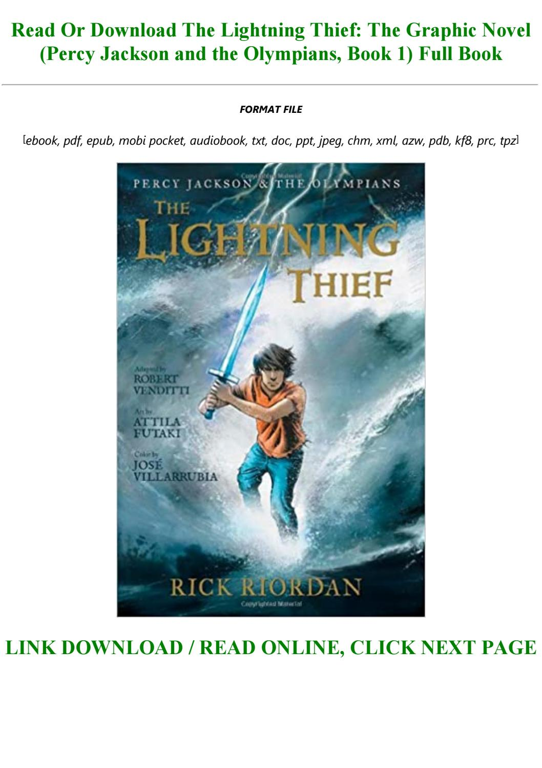 Percy Jackson The Lightning Thief Pdf Online