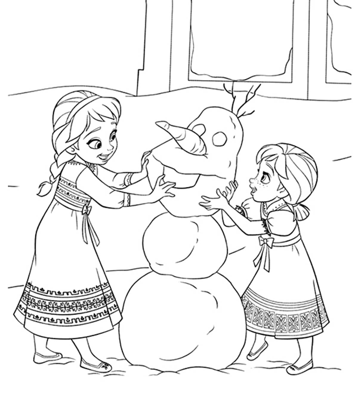 Princess Kids Coloring Pages Pdf