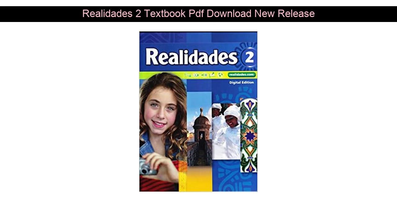 Realidades 1 Textbook Pdf