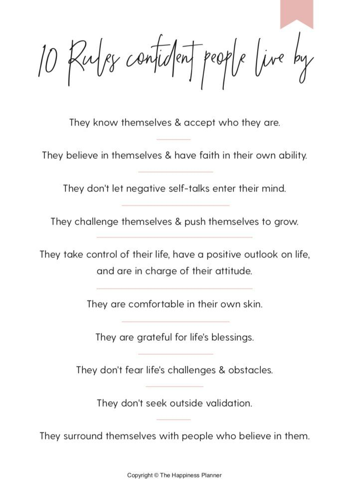 Self Confidence Printable Self Esteem Worksheets Pdf