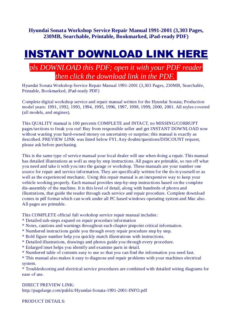 Service Manual Hyundai Service Schedule Pdf