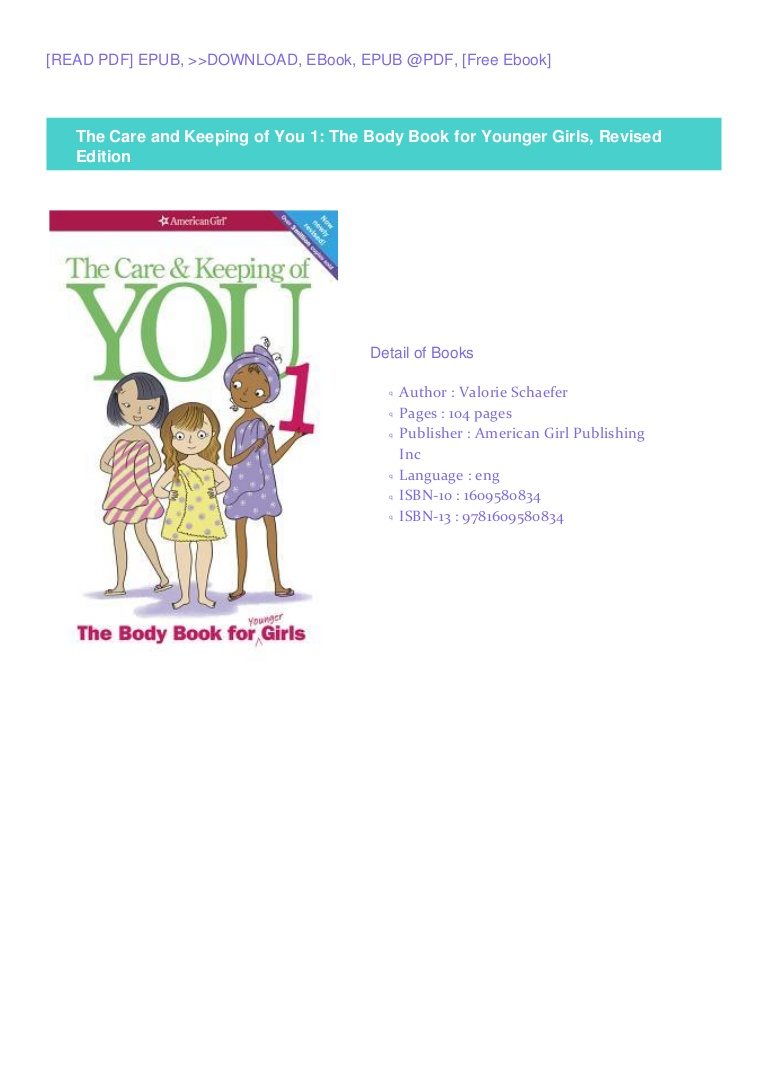 The Care And Keeping Of You 1 Pdf Free