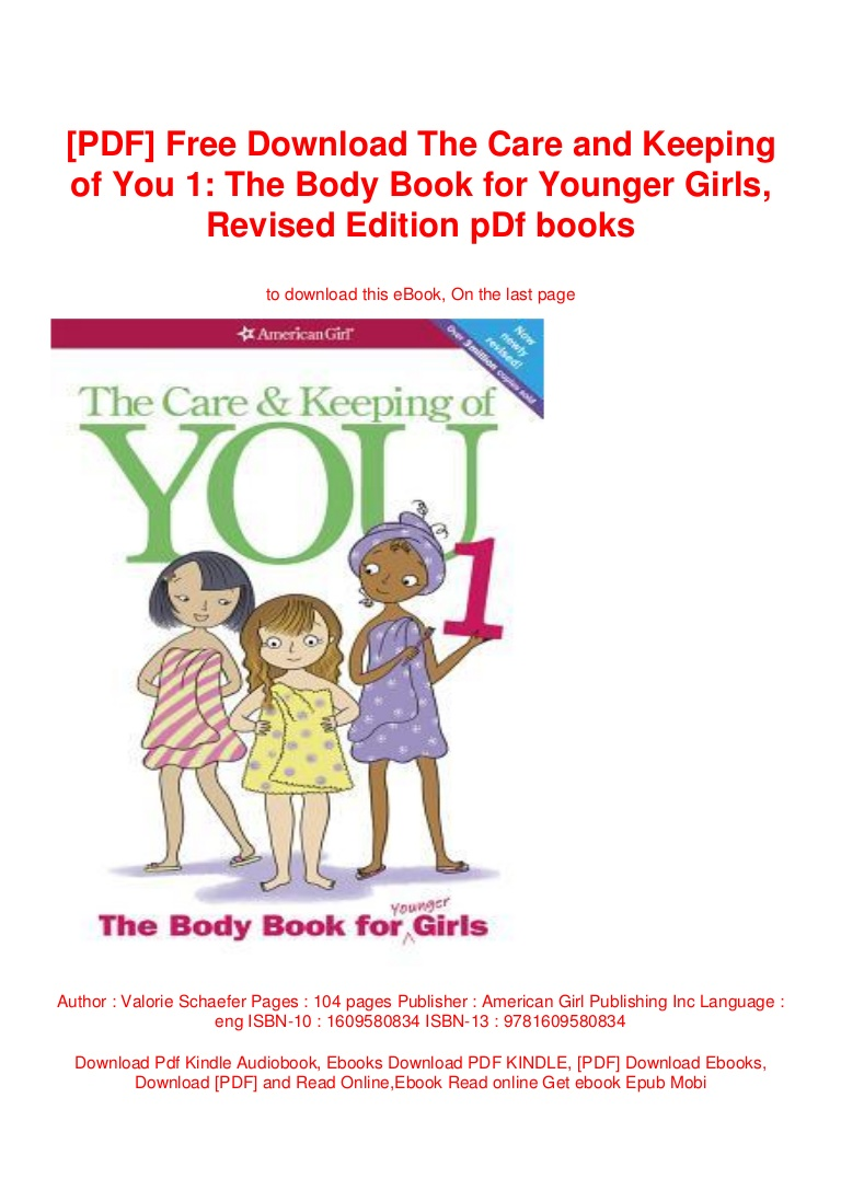 The Care And Keeping Of You Pdf Free Download