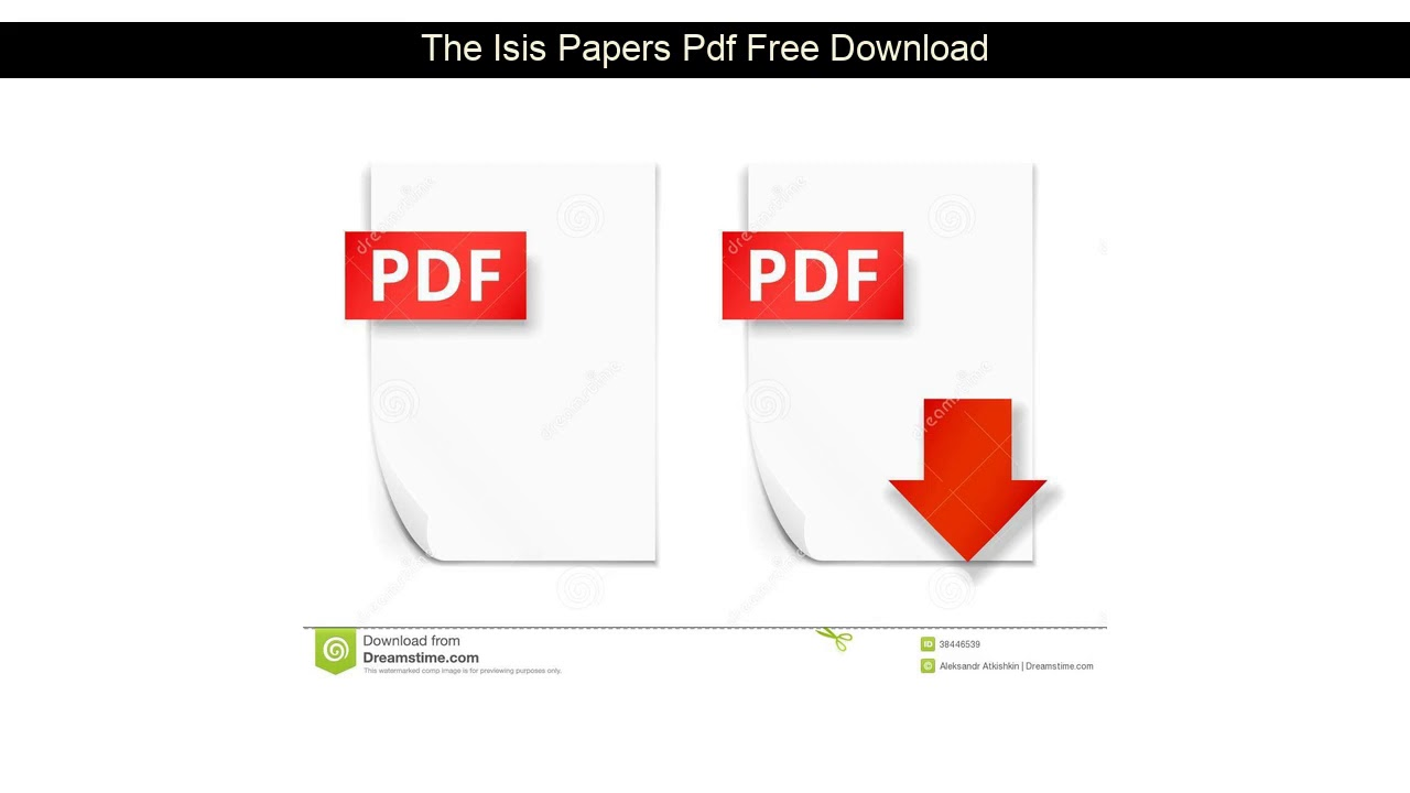The Isis Papers Pdf Download