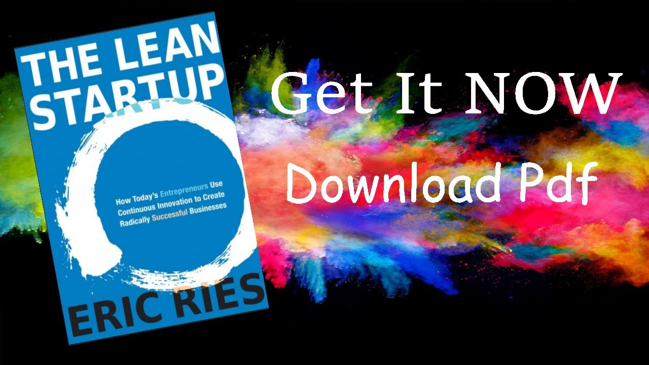 The Lean Startup Pdf Eric Ries