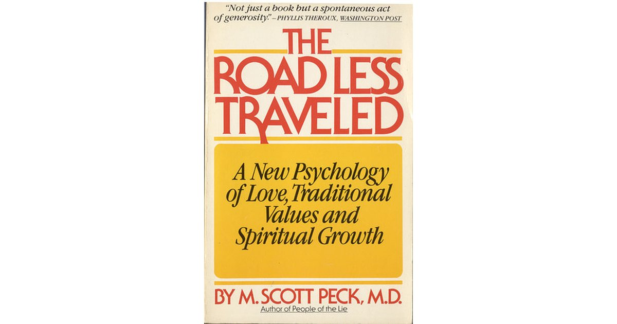 The Road Less Traveled Pdf Download Scott Peck