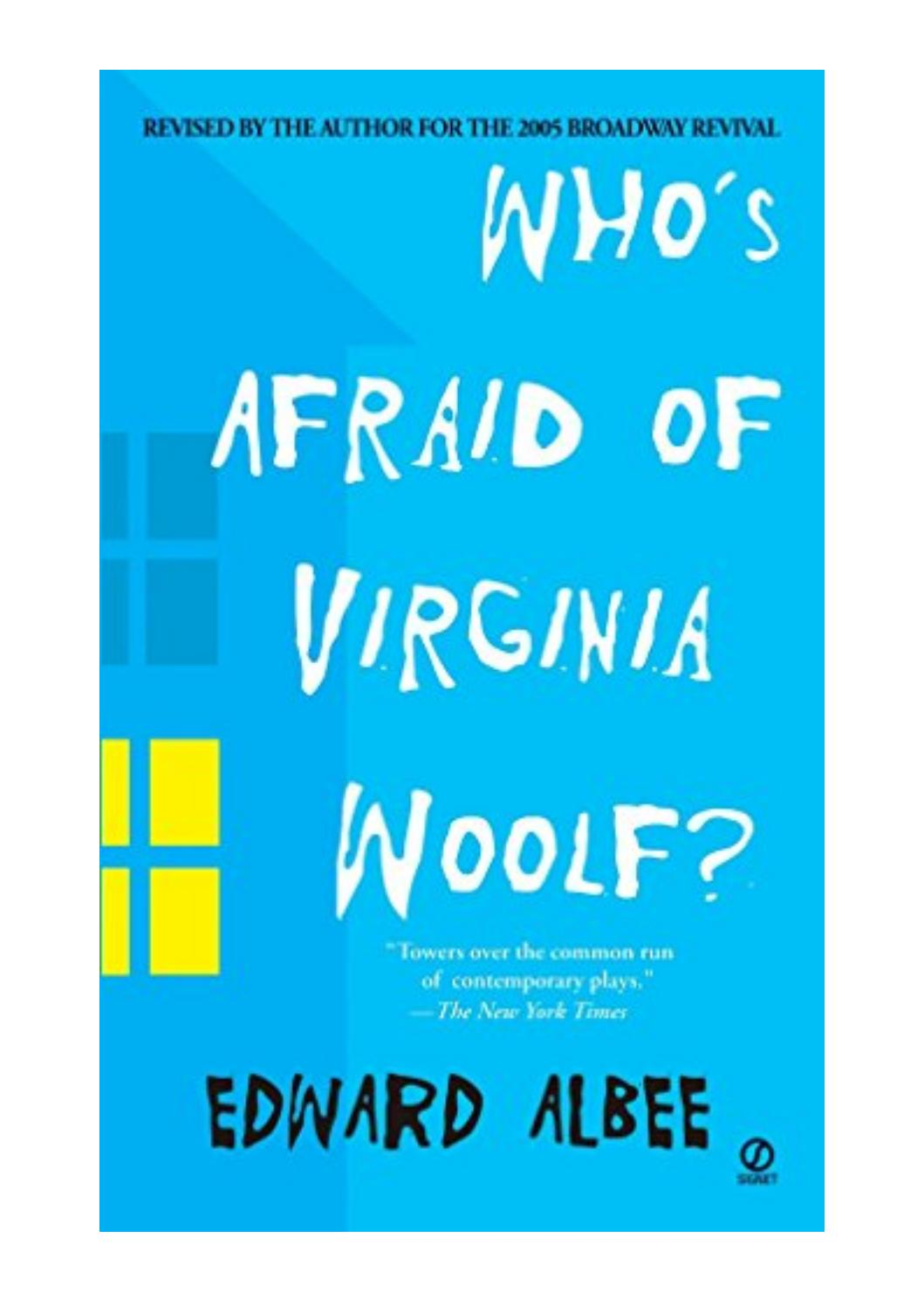 Who's Afraid Of Virginia Woolf Pdf