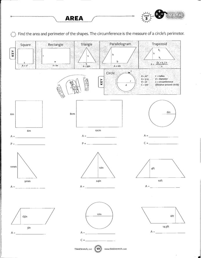 8th Grade Math Word Problems Worksheets Pdf