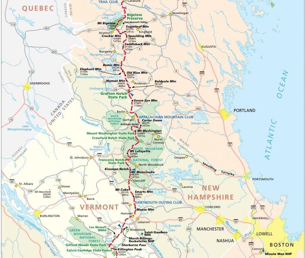 Appalachian Trail Map Pdf