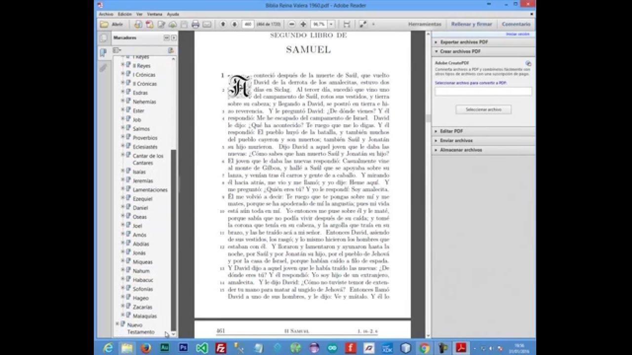 Biblia Reina Valera 1960 Pdf Interactiva