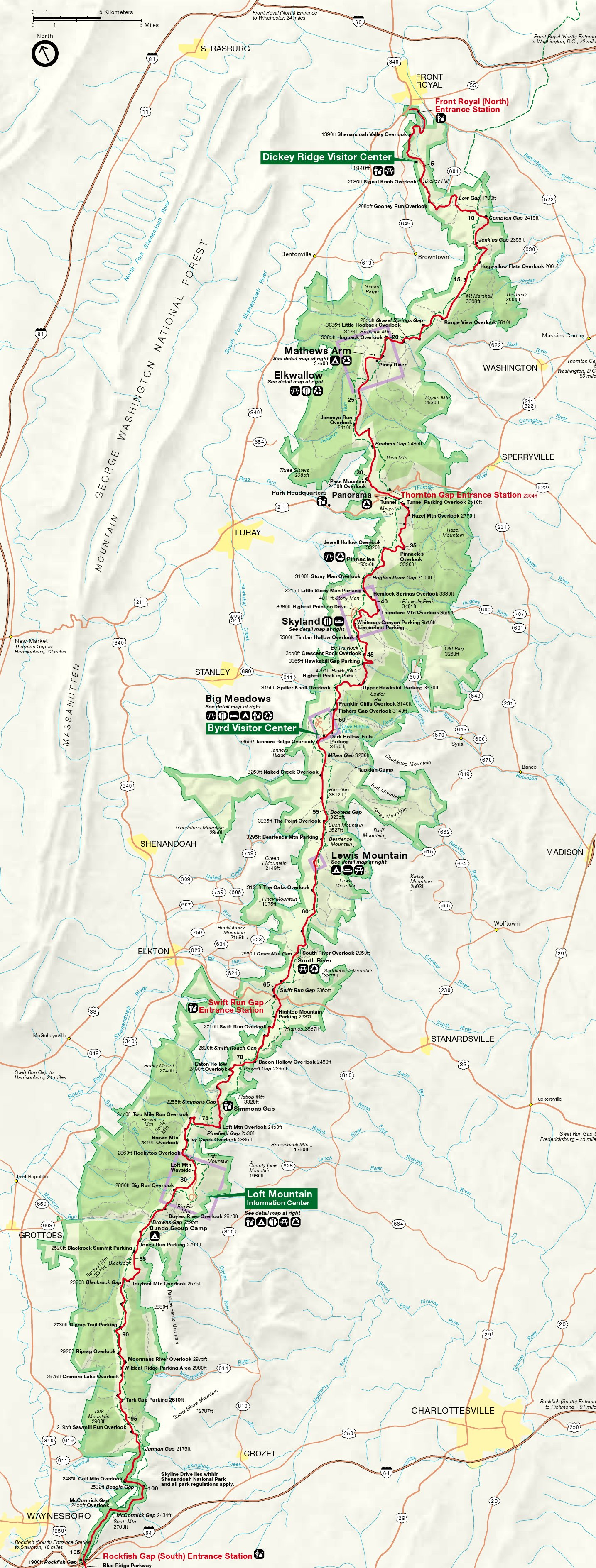 Detailed Appalachian Trail Map Pdf