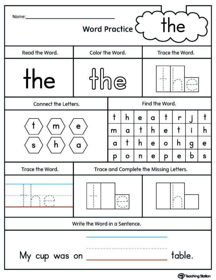 Dolch Sight Words Pdf