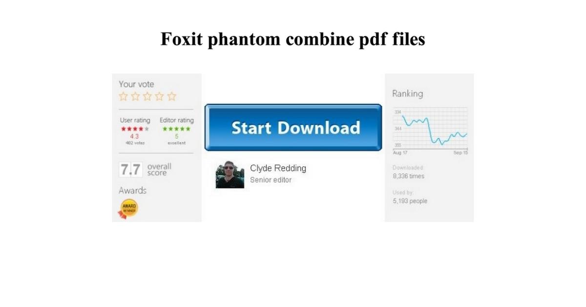 Foxit Combine Pdf