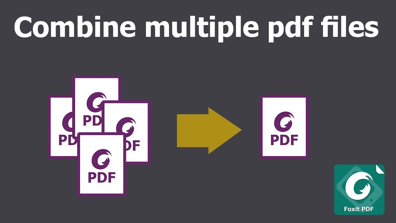 Foxit How To Combine Pdfs