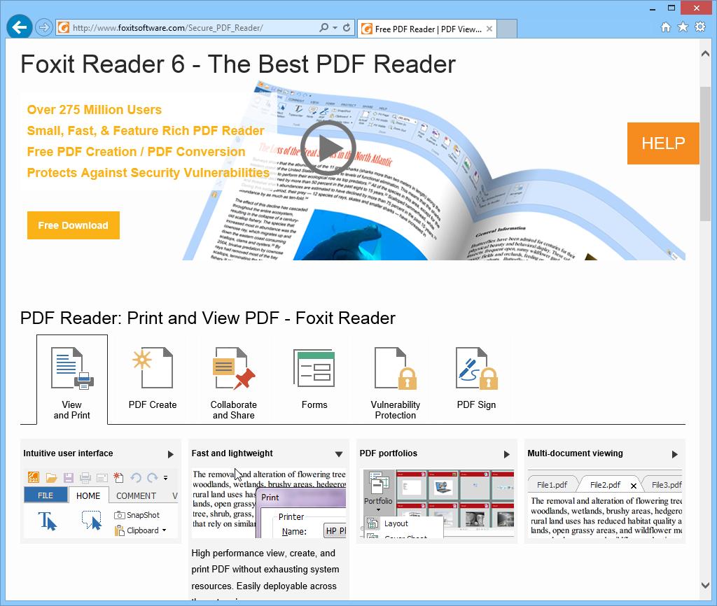 Foxit Reader Combine Pdf