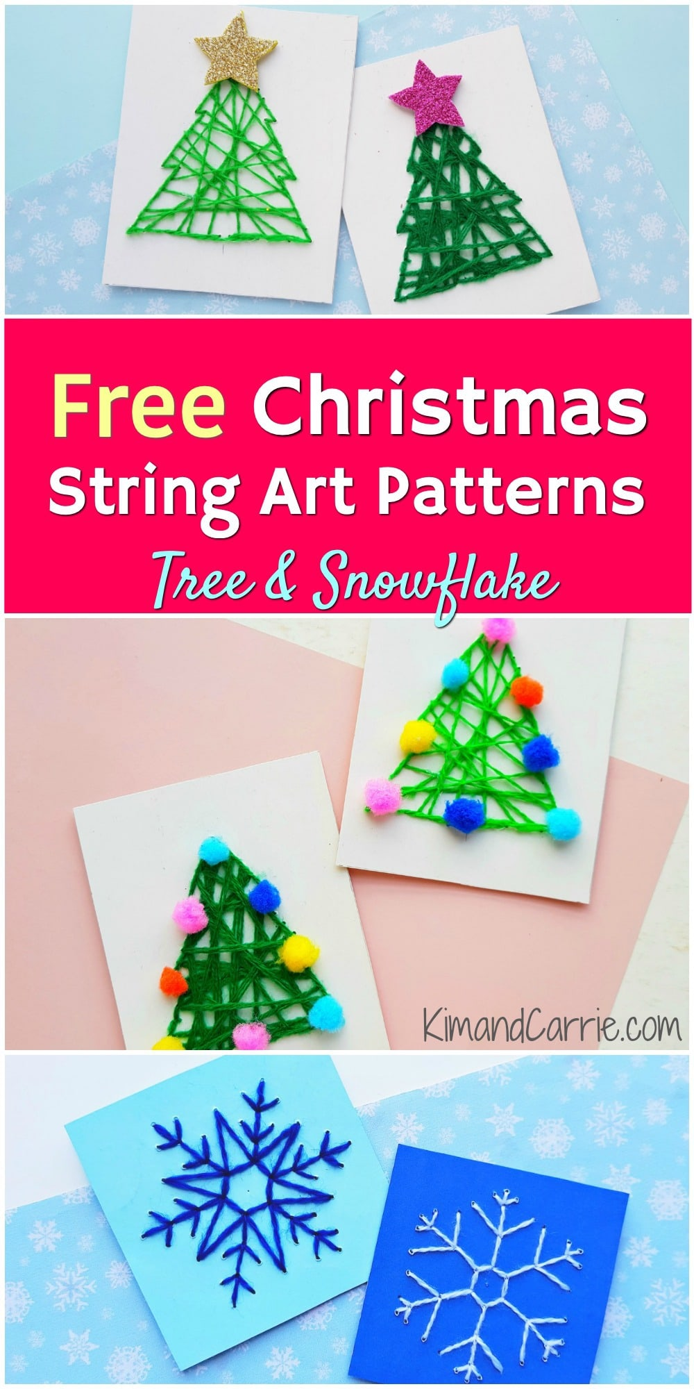 Free Christmas String Art Patterns Pdf