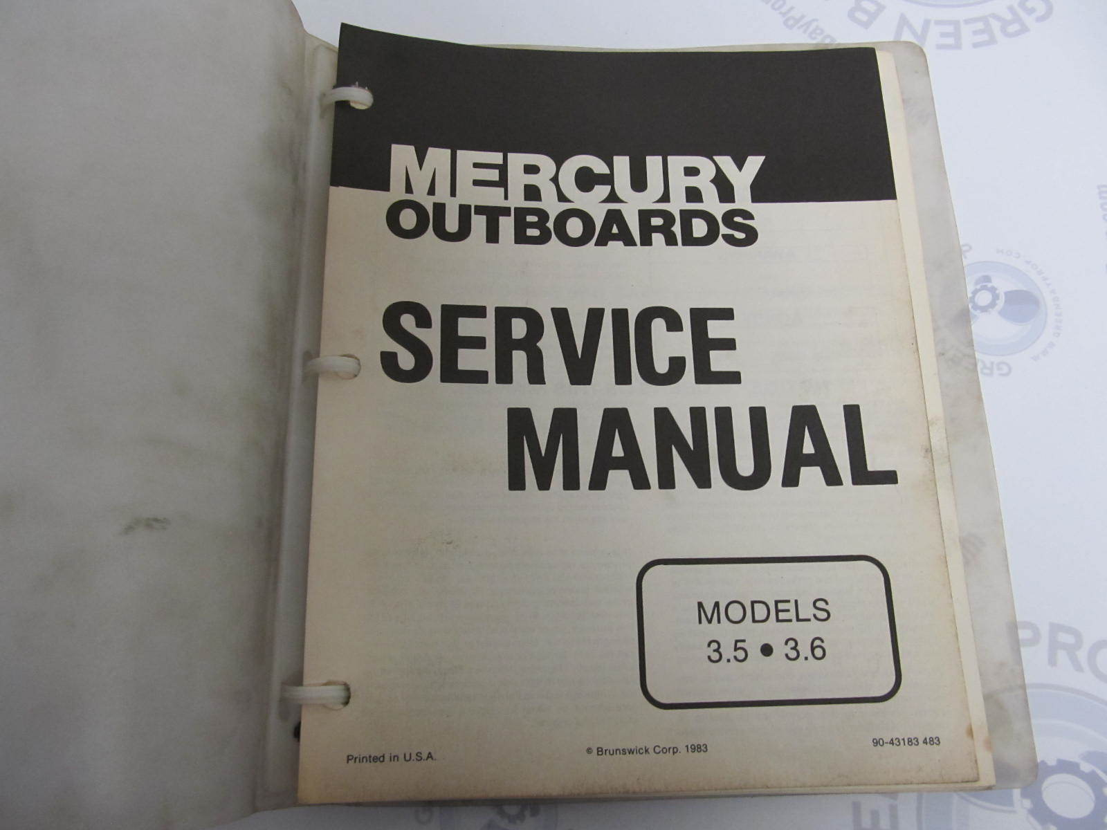 Free Mercury Outboard Service Manual Pdf