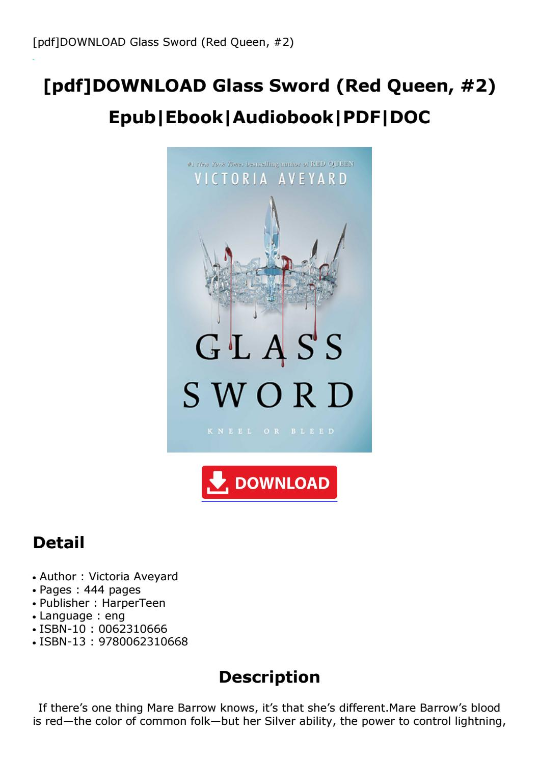 Glass Sword Pdf