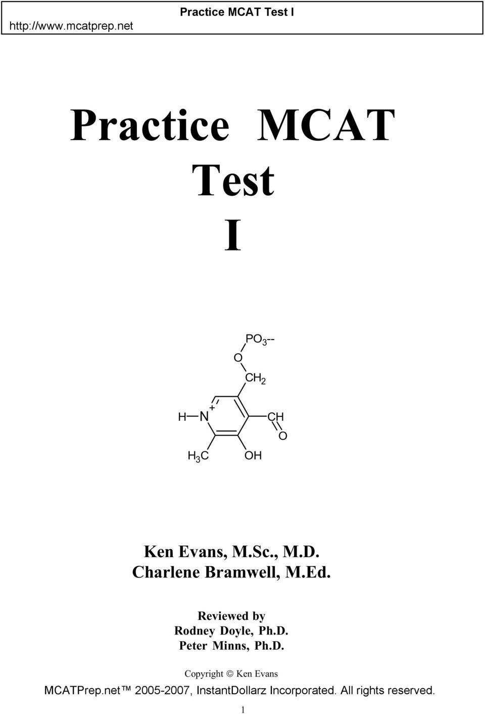 Mcat Practice Test Pdf Download
