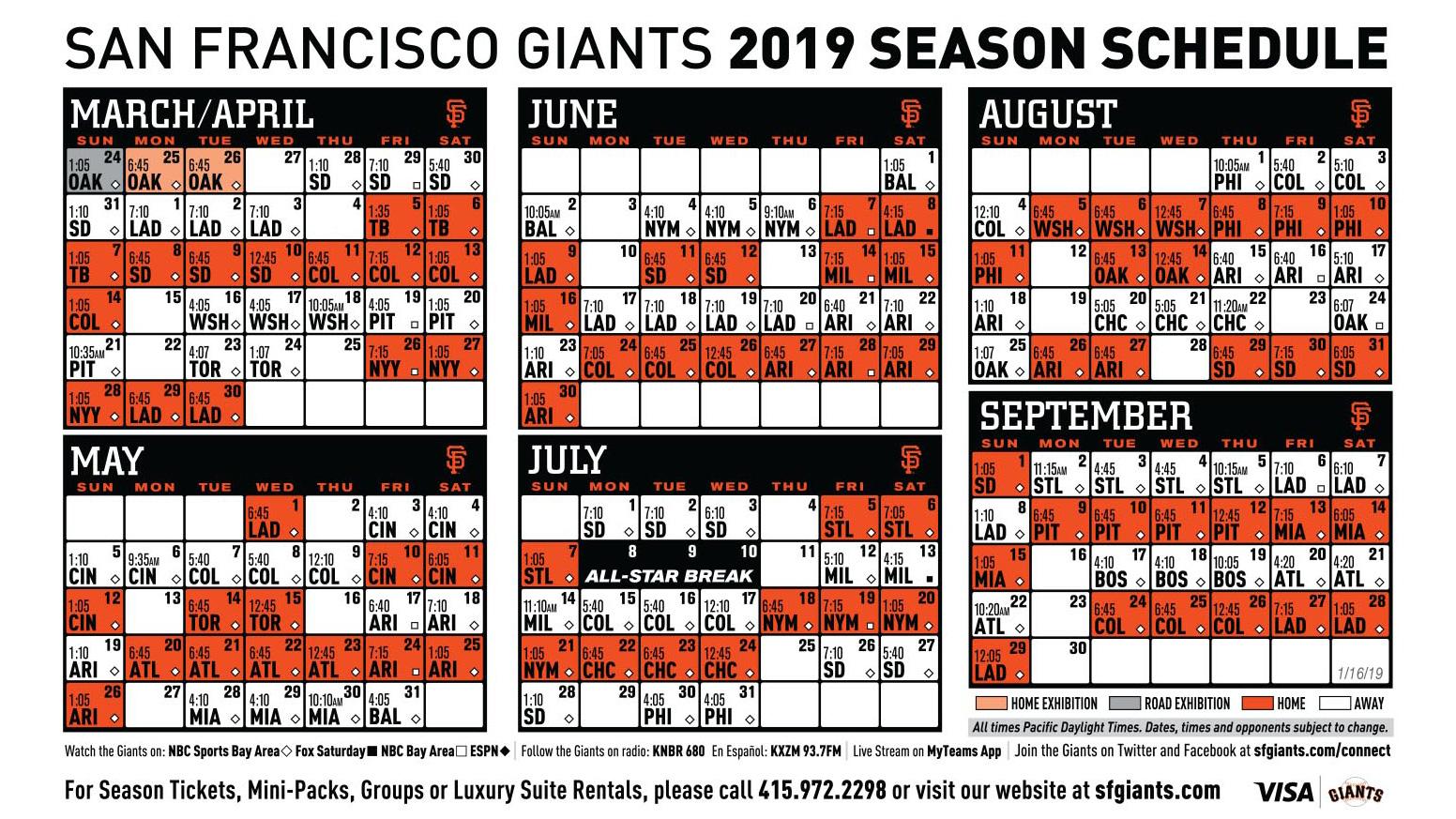 Mets 2018 Schedule Pdf